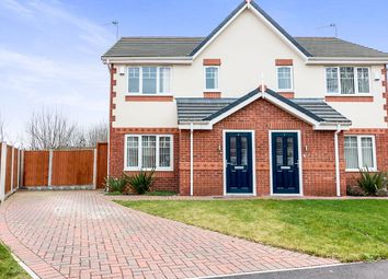 Thumbnail 3 bed semi-detached house for sale in Kingswood, Huyton, Liverpool