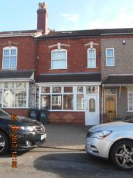 Thumbnail 4 bedroom terraced house for sale in Charles Road, Small Heath