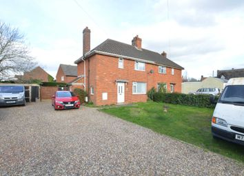 Thumbnail 3 bed semi-detached house for sale in The Street, Poringland