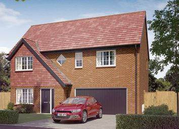 "Thumbnail 4 bed detached house for sale in ""The Westbury"" at Newbold Road, Chesterfield"
