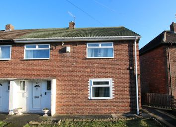 Thumbnail 2 bed semi-detached house for sale in Windermere Crescent, Hebburn