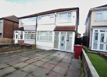 Thumbnail 3 bed semi-detached house to rent in Regent Avenue, Broadgreen, Liverpool