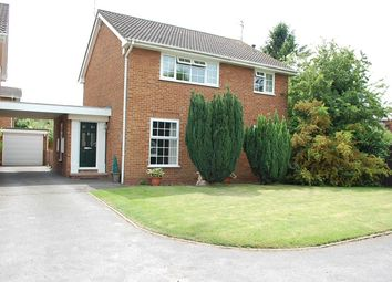 Thumbnail 4 bed detached house for sale in Romway Close, Shepshed, Loughborough