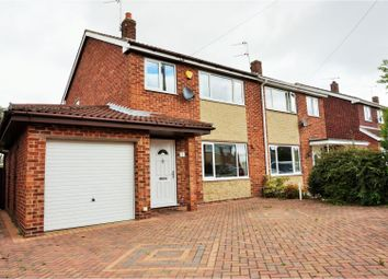 Thumbnail 3 bed semi-detached house for sale in Nene Grove, Doncaster