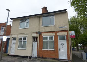 Thumbnail 2 bedroom end terrace house for sale in Hobson Road, Leicester