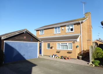 Thumbnail 4 bed detached house for sale in Fenside Drive, Newborough, Peterborough