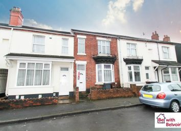 Thumbnail 4 bed terraced house for sale in All Saints Road, Wolverhampton