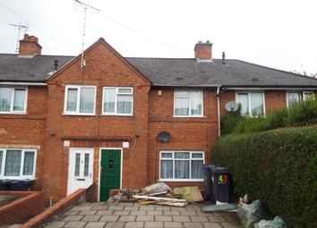 Thumbnail 2 bedroom terraced house for sale in Sunningdale Road, Birmingham, West Midlands