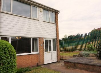 Thumbnail 3 bed end terrace house for sale in Third Avenue, Nottingham
