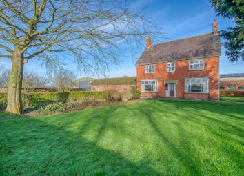 Thumbnail 4 bed equestrian property for sale in Sutton Road, Huttoft, Alford, Lincolnshire