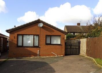 Thumbnail 2 bed detached bungalow for sale in Wordsworth Close, Cannock