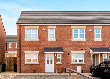 Thumbnail 2 bed end terrace house for sale in Hickory Court, Pontefract