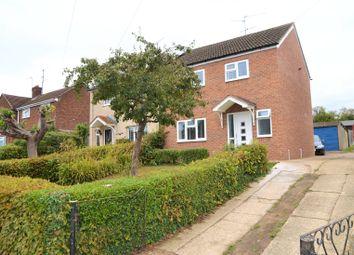 Thumbnail 3 bed semi-detached house for sale in Usk Road, Tilehurst, Reading, Berkshire