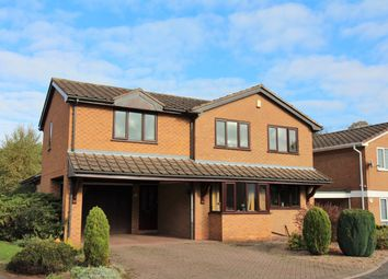 Thumbnail 5 bed detached house for sale in Fleming Close, Watnall, Nottingham