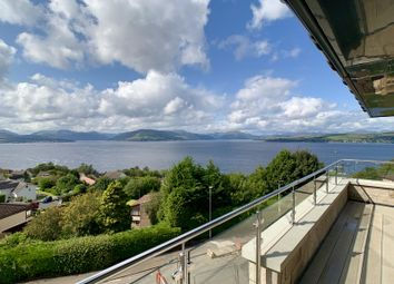 Thumbnail 2 bed flat for sale in Cowal View, Gourock