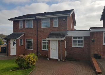 Thumbnail 2 bedroom semi-detached house for sale in Kingscote Close, Church Hill North, Redditch