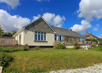 Thumbnail 1 bed semi-detached bungalow to rent in Trelowth, St Austell, Cornwall