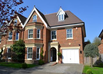 Thumbnail 5 bed semi-detached house to rent in Selborne Place, Old Avenue, Weybridge, Surrey