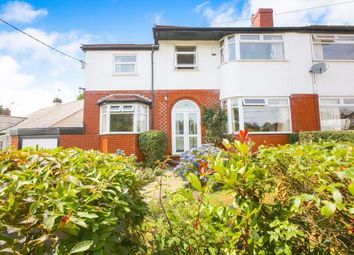Thumbnail 4 bed semi-detached house for sale in Glossop Road, Marple, Stockport, Cheshire