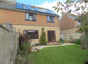 Thumbnail 4 bed semi-detached house for sale in Treworvenneth Drive, Marazion