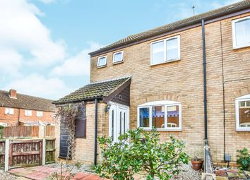 Thumbnail 2 bedroom end terrace house for sale in Oak Close, New Costessey, Norwich