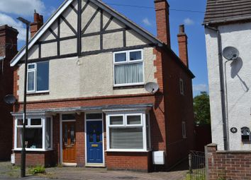 Thumbnail 2 bed semi-detached house for sale in Regent Street, Church Gresley, Swadlincote