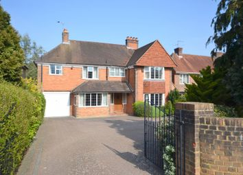 Thumbnail 5 bed detached house for sale in Broomleaf Road, Farnham