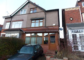 Thumbnail 4 bedroom semi-detached house for sale in Manor Road, Stechford, Birmingham