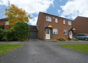 Thumbnail 2 bed semi-detached house for sale in St. Hildas Close, Didcot