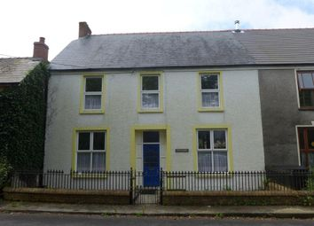 Thumbnail 3 bed semi-detached house for sale in Station Road, Clunderwen, Pembrokeshire