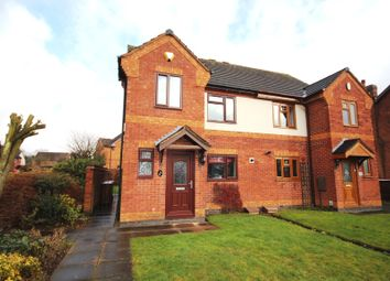 Thumbnail 3 bed property for sale in Church Street, Burntwood, Staffordshire