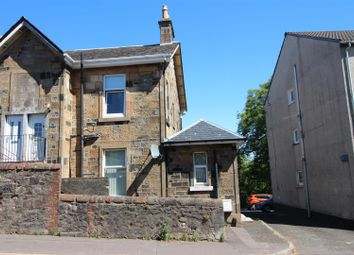 Thumbnail 1 bed flat for sale in Carwood Street, Greenock