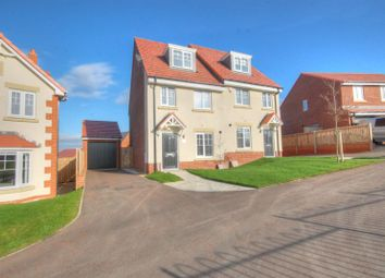 Thumbnail 3 bedroom semi-detached house for sale in Moralee Close, Ryton