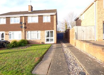 Thumbnail 3 bed semi-detached house for sale in Stapleton Close, Winyates, Redditch