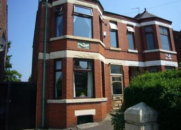 Thumbnail 4 bed semi-detached house to rent in Clarendon Road West, Chorlton