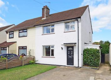 Thumbnail 3 bed semi-detached house for sale in Broadstone Road, Hornchurch, Essex