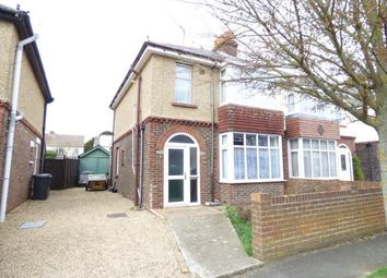 Thumbnail 3 bed semi-detached house for sale in Strathmore Road, Gosport