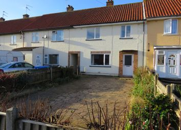Thumbnail 3 bedroom terraced house for sale in Greenfield Road, Lowestoft