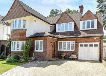 Thumbnail 5 bed detached house for sale in Dorset Drive, Edgware