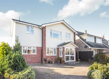 Thumbnail 4 bed detached house for sale in Cherry Drive, Royston