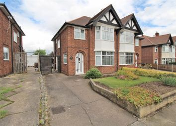 Thumbnail 3 bed semi-detached house for sale in Farm Road, Chilwell, Nottingham