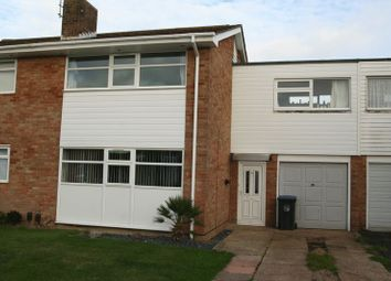 Thumbnail 3 bed terraced house for sale in Poling Close, Goring-By-Sea, Worthing