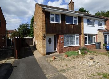 Thumbnail 3 bed semi-detached house for sale in Airedale Close, Long Eaton, Nottingham