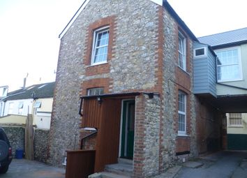 Thumbnail 1 bed mews house to rent in Trinity Terrace, Castle Street, Axminster