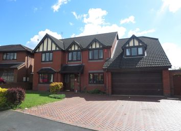 Thumbnail 6 bed detached house for sale in Terrington Drive, Westbury Park, Newcastle