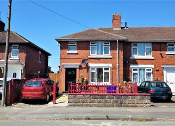 Thumbnail 3 bed end terrace house for sale in Langford Road, Stoke-On-Trent, Staffordshire