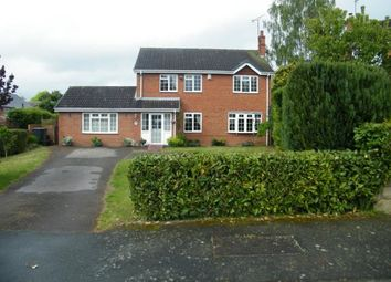 Thumbnail 4 bed detached house for sale in Corbet Drive, Adderley, Market Drayton, Shropshire