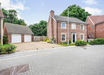 Thumbnail 4 bed detached house for sale in Byfords Way, Watton, Thetford