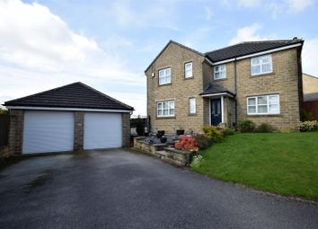 Thumbnail 4 bedroom detached house for sale in Bradshaw View, Queensbury, Bradford