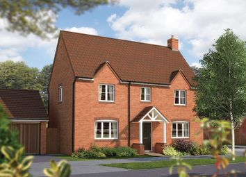 "Thumbnail 4 bed detached house for sale in ""The Hanley"" at Drake Street, Welland, Malvern"